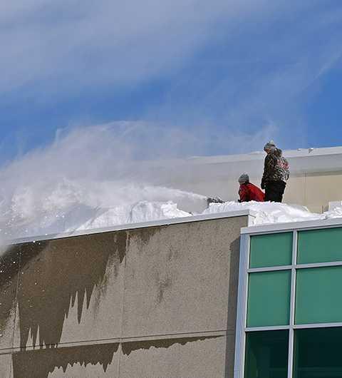 déneigement de toiture Boisbriand